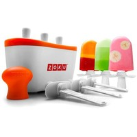 Zoku Quick Pop Maker Orange 20.5x11x11cm - Free shipping over $100