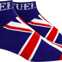 Fuel Low Cut Socks Union Jack