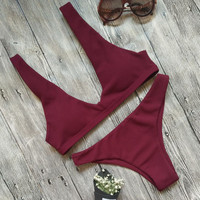 Summer Hot Swimsuit Beach New Arrival Swimwear Ladies Bikini