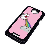 HELLO KITTY UNICORN HTC One X Case Cover