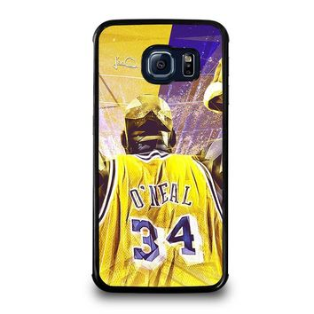 SHAQUILLE O'NEAL LA LAKERS Samsung Galaxy S6 Edge Case Cover
