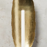 Hammered Candle Sconce
