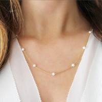 Simple Design Pearls Accessory [11156946260]