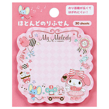 Buy Sanrio My Melody Marching Band Die Cut Sticky Notes at ARTBOX