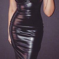Lo Lo Leatherette Dress