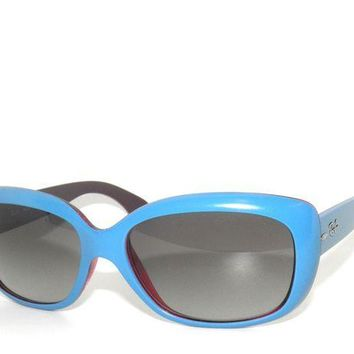 Kalete CLEARANCE~RAY BAN 4101 613311 BLUE ON BORDEAUX/ LIGHT GREY SunglaSSes Rayban 58