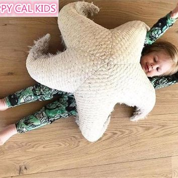 INS new starfish toy living room pillow pillow baby doll pillow children room decoration plush doll