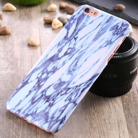 Classic Marble Skins Case For iPhone 6 6S Fashion Hard Plastic Ultra Thin Back Slim Cover For iPhone 6 4.7inch / 6S Mobile Phone