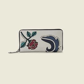 MJ Collage Standard Continental Leather Wallet - Marc Jacobs