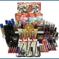 25 Piece Rimmel Cosmetics Makeup Assorted Mixed Lot