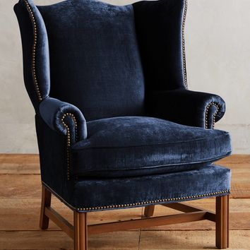 Slub Velvet Ludlowe Chair