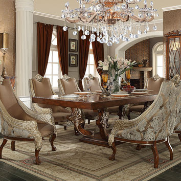 Homey Design Swan European Dining Set HD-124