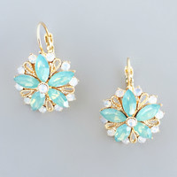 Mint Ella Earrings