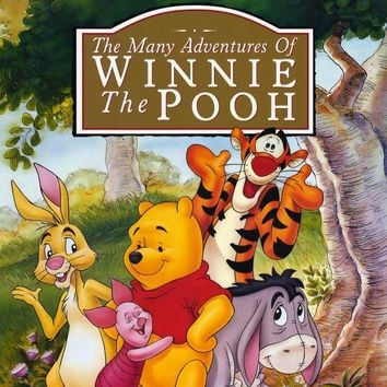 Many Adventures of Winnie the Pooh 11x17 Movie Poster (2002)