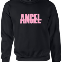 angel beyonce Sweatshirt CrewNeck