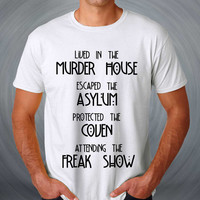 escaped the asylum american horror T-shirt