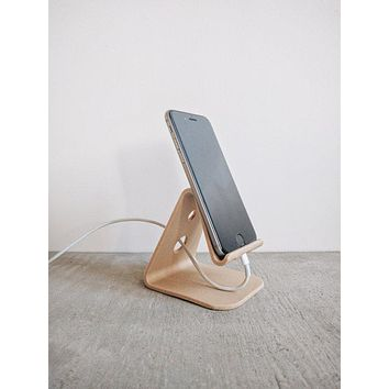 IPhone stand 6 / 6 s more, Iphone 7/7 more minimalist design printed 3D wood