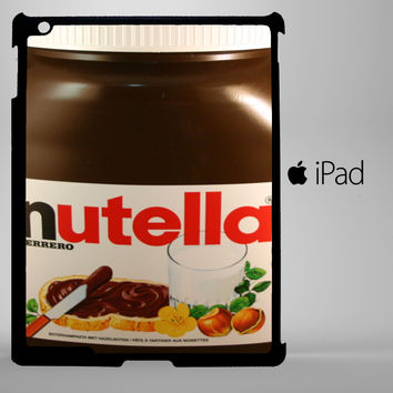 Funny Nutella Bottle iPad 2, iPad 3, iPad 4, iPad Mini and iPad Air Cases - iPad