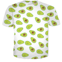 AVOCADO PATTERNED TEE