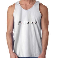 Pizza For Mens Tank Top Fast Shipping For USA special christmas ***