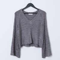 Loving This Moment Sweater Top - Purple