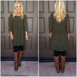 Nothing To Lose Baby Doll Dress - OLIVE