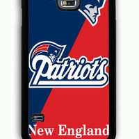 Samsung Galaxy S5 Case - Rubber (TPU) Cover with New England Patriots Logo Rubber Case Design