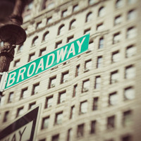 Broadway  Art Print by Carmen Moreno Photography