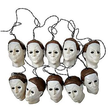 Michael Myers String Lights - Halloween H20 - Spirithalloween.com