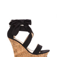 Bow Down Platform Wedges GoJane.com