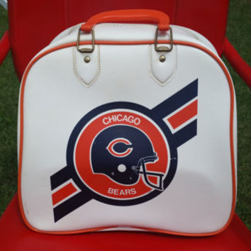 Vintage Chicago Bears Rockabilly Bowling Bag