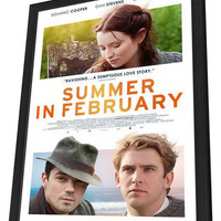 Summer in February 11x17 Framed Movie Poster (2014)