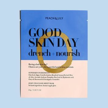 GOOD SKIN DAY DRENCH + NOURISH SHEET MASK