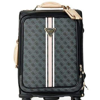"Logo Sport 18"" 8-Wheel Spinner Suitcase 