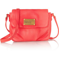 Marc by Marc Jacobs | Classic Q Isabelle leather mini shoulder bag | NET-A-PORTER.COM