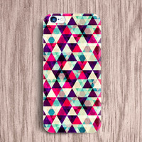 Tribal iPhone 5 5S 5c Samsung Galaxy S4 S5 mini Case Geometric iPhone 5 Case Triangle iPhone 4s Case Triangle Note 4 Case Trend Cover [07]