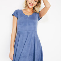 Faux Suede Dress | Wet Seal