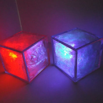 GlowPixel 2.0 (large) (2 pack) -unique, computer geek, cool, gift for men, dad, boyfriend, stocking stuffer
