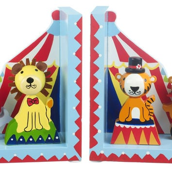 Vintage Circus Bookends by Orange Tree Toys