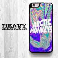 Arctic Monkeys Art for iPhone 4 4S 5 5S 5C 6 6 Plus , iPod Touch 4 5  , Samsung Galaxy S3 S4 S5 S6 S6 Edge Note 3 Note 4 , and HTC One X M7 M8 Case
