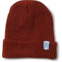 Classic Rust Watch Cap | TOMS.com