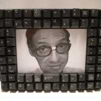 Computer Keyboard Keys Picture Frame