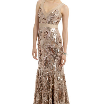 Badgley Mischka Glisten Up Gown
