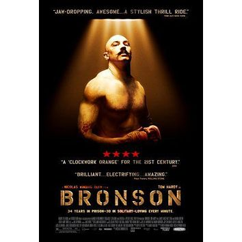 Bronson poster Metal Sign Wall Art 8in x 12in