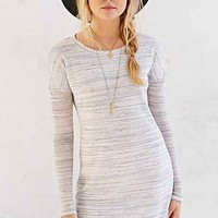 BDG Rib-Sleeve Knit T-Shirt Dress-