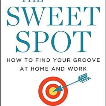"The Sweet Spot: How To Find Your Groove At Home And Work by Christine Carter (Bargain Books) - Plus ""Read Feminist Books"" Pen"