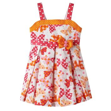 Bonnie Jean Sparkle Butterfly Dress - Toddler, Size:
