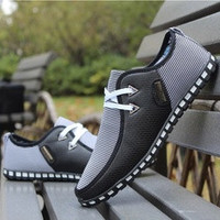 Casual Canvas Men's Sneaker Shoes Ultralight Flattie Increase Shoes Hotsale(Our size is Asian size you need buy one size bigger than your real size or reference to description ) New size 46 for US size 10.5 [7898259527]