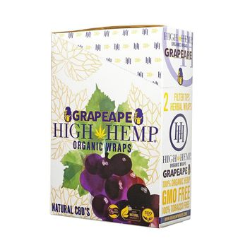 High Hemp Wraps | Grapeape (Col)