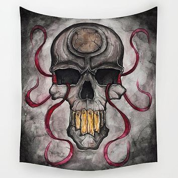 Skull of Death Tapestry
